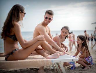 Beaches in Riccione